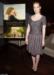 """Jessica Chastain - """"The Zookeeper's Wife"""" screening at the Landmark Theater in LA 3/31/17"""