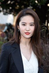 Liu Yifei - Paris Fashion Week: Christian Dior Haute Couture S/S 2016 Fashion Show @ Musee Rodin in Paris - 01/25/16