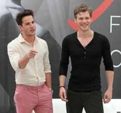 Joseph Morgan and Michael Trevino - 52nd Monte Carlo TV Festival / The Vampire Diaries Press, 12.06.2012 - 34xHQ G4ww0qct