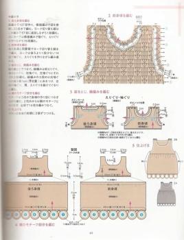 Схема вязаное детское платье