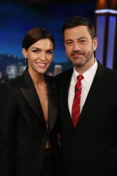 Ruby Rose - Jimmy Kimmel Live: January 20th 2017