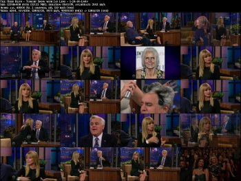 Heidi Klum - Tonight Show with Jay Leno - 1-24-14