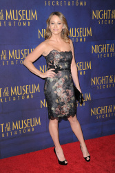 Christine Taylor 'Night At The Museum Secret Of The Tomb' New York premiere 12/11/2014 11