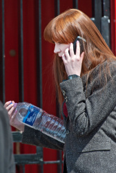 Карен Гиллан, фото 190. Karen Gillan - Set of 'Not Another Happy Ending' in Glasgow, Scotland - 7/20/12, foto 190