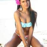 Gatas QB - Silvana Silva Miss Fanática Record Março 2014