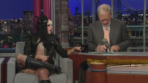 Lady Gaga Interview On The David Letterman Show 2011