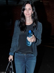 Courteney Cox - out in LA 4/2/13