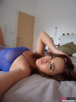 selfshot101 Sexy In See Through Bodysuit