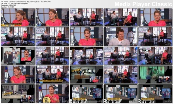 Candace Cameron Bure - Big Morning Buzz - 4-25-14 (legs in short skirt)