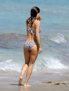 Brooke Burke - On The Beach In St. Barts - February 15th 2017