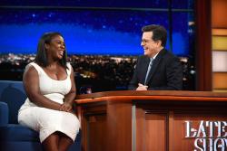 Uzo Aduba - The Late Show with Stephen Colbert: June 12th 2017