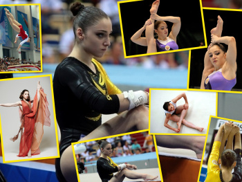 Aliya Mustafina - Collage Wallpaper 1600 x 1200 - x 1