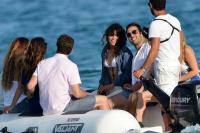 Nina Dobrev with her boyfriend Austin Stowell in Saint-Tropez (July 24) RA8YvJpR