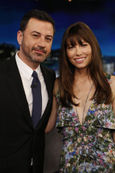 Jessica Biel - Jimmy Kimmel Live: January 11th 2017