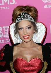 Farrah Abraham - Day of the Killer Costumes Halloween Party @ Ghostbar Dayclub at Palms Casino Resort in Las Vegas - 10/25/15