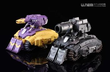 [Mastermind Creations] Produit Tiers - Reformatted R-13 Spartan (aka Impactor) des Wreckers + R-14 Commotus (aka Turmoil) - IDW LeiqMMXd