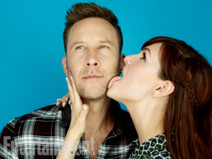Sara Rue and Michael Rosenbaum at Comic Con in San Diego - July 9, 2015