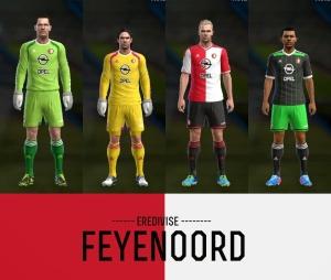 Download PES 2013 Feyenoord Kits 2014/15 by AkmalRW