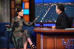 Olivia Wilde - The Late Show with Stephen Colbert: June 13th 2017