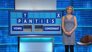 UK TV Presenters. Re Rachel Riley.