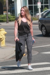 Hilary Duff Going To a Pilates Class in Sherman Oaks - 7/22/17