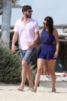Nina Dobrev with her boyfriend Austin Stowell in Saint-Tropez (July 24) BfeaYyCF
