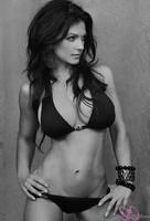 Дениз Милани, фото 5093. Denise Milani Black & White bikini :, foto 5093