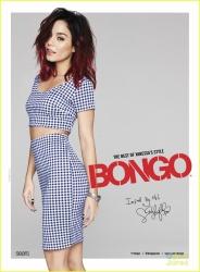 Vanessa Hudgens - Bongo's Spring 2015 Campaign