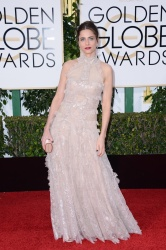 Amanda Peet - 73rd Annual Golden Globe Awards @ the Beverly Hilton Hotel in Beverly Hills - 01/10/16