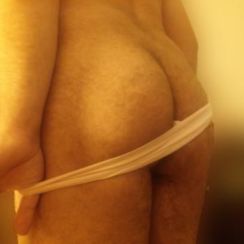 Precioso culito de rayas 2