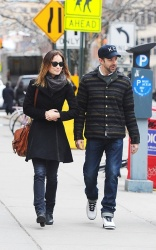 Olivia Wilde - out and about in NYC 2/28/13