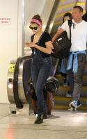 Nina Dobrev at LAX Airport (March 27) FfA5m7r5