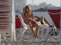 Georgia May Jagger - wearing a bikini in Miami - 2/7/14