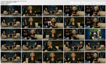 Charlize Theron - Chelsea Lately - 5-21-14