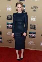 Sarah Paulson - American Horror Story: Hotel Premiere Screening @ Regal Cinemas L.A. Live in Los Angeles - 10/03/15