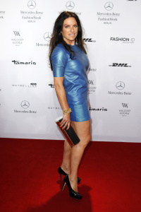 Christine Neubauer Attends The Glaw Show During Mercedes