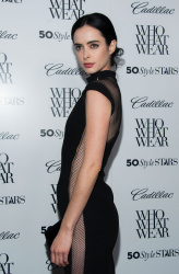 Krysten Ritter - 50 Most Fashionable Women of 2013 Event in West Hollywood 10/24/13