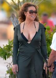 Mariah Carey in St. Barts - 3/28/15