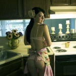 cocinando desnudas