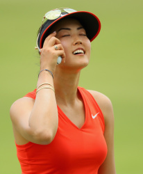 Michelle Wie - 2017 HSBC Women's Champions Round Four @ Sentosa Golf Club in Singapore - 03/05/17