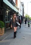 Lindsay Lohan leaving a restaurant in London June 4-2015 x9