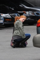 Джессика Честейн, фото 2271. Jessica Chastain On the set of 'The Disappearance of Eleanor Rigby' in New York City - July 13, 2012, foto 2271