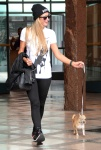 Paris Hilton leaving the Anastasia Salon in Beverly Hils July 1-2015 x63