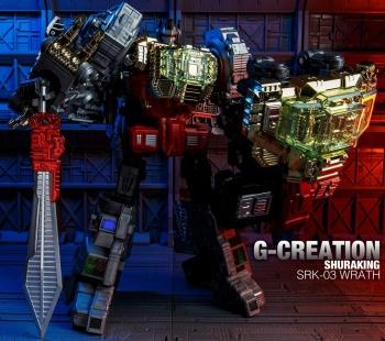 [GCreation] Produit Tiers - Jouet ShuraKing - aka Combiner Dinobots - Page 3 HlRS2zDI