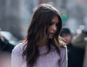 Emily Ratajkowski - Street Style, Day 8, Fall Winter 2017, New York Fashion Week - February 16th 2017