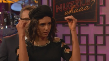 Nina Dobrev - The Late Late Show With James Corden 19th January 2017 1080i HDMania