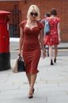 Pamela Anderson -                    Ecuadorian Embassy London July 6th 2017.