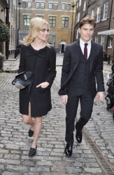 Pixie Lott - Going to Stock Exchange Annual Charity Dinner in London - 18th April, 2013