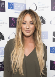 Charlotte Crosby - Misfits Management & Bold Management Christmas Party @ Turntable in London - 12/08/15