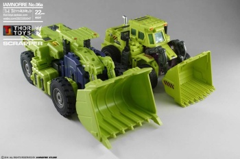 [Toyworld] Produit Tiers - Jouet TW-C Constructor aka Devastator/Dévastateur (Version vert G1 et jaune G2) - Page 5 9OxBhoJT